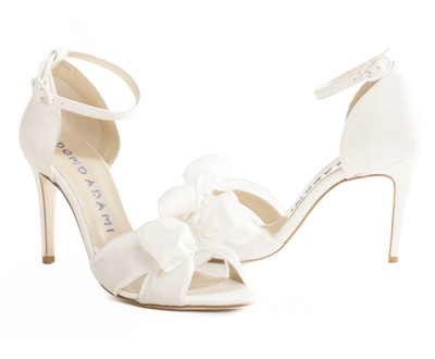 GiadaWhite glitter and grosgrain